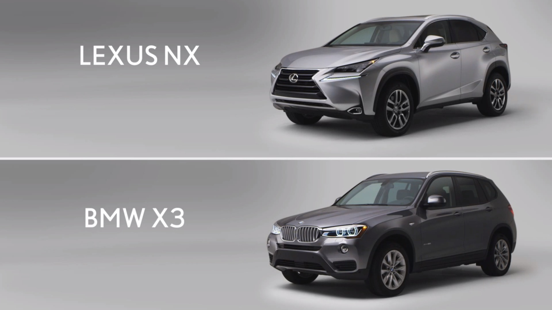 lexus is back this time 39 proving 39 the nx is better than the bmw x3 autoevolution. Black Bedroom Furniture Sets. Home Design Ideas