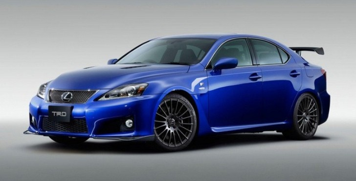 Lexus IS F Circuit Club Sport Debuts
