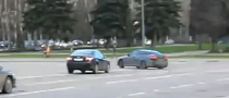 Lexus IS-F Driver Does Perfect Drift Through Busy Traffic [Video]