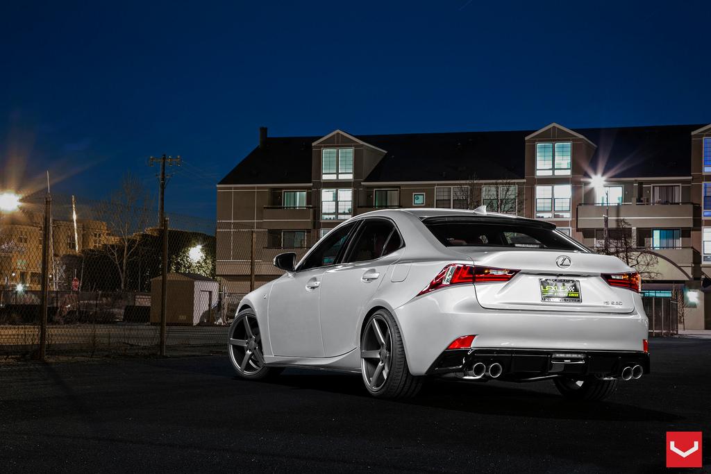 Lexus IS F Sport on Vossen Rims Makes You Drool  autoevolution