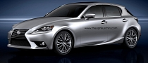 Lexus IS Hatchback Rendering Released