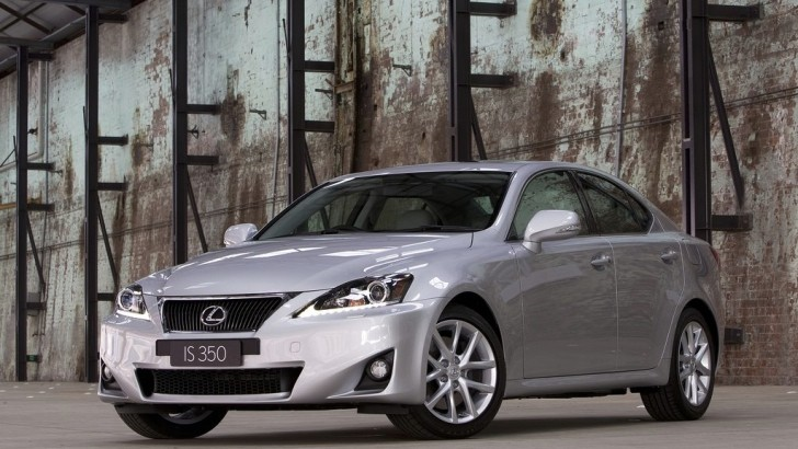 Lexus IS Tops Ipsos Quality Survey