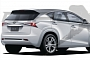 Lexus Working on NX Small Crossover Hybrid