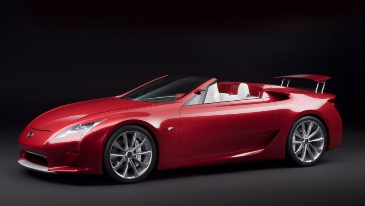 Lexus LF-A Roadster Not Coming