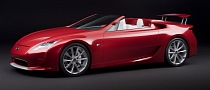 Lexus LF-A Roadster to Enter Production in 2014, Hot GS Will Be a Hybrid