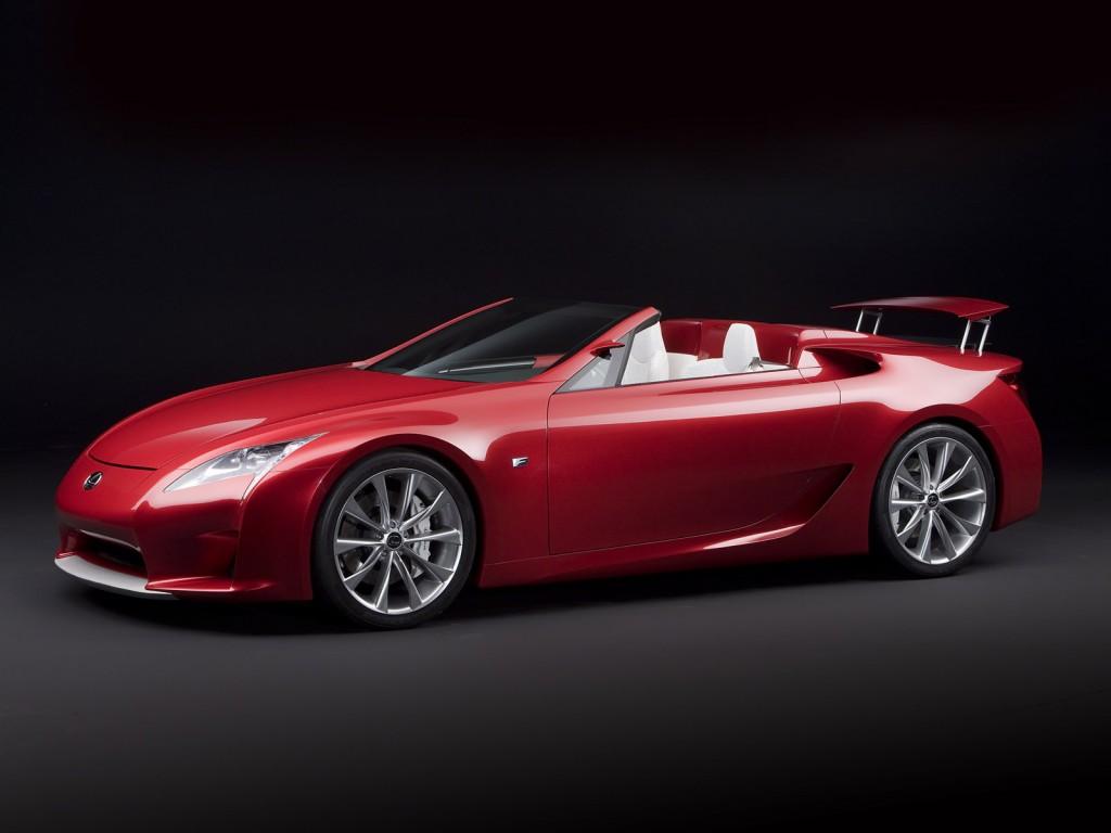 2008 Lexus Lf A Roadster Concept
