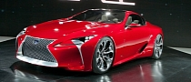 Lexus LF-Lc Concept: European Debut in Geneva