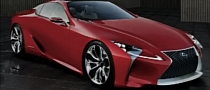 Lexus LF-Lc Concept Leaked [Photo Gallery]