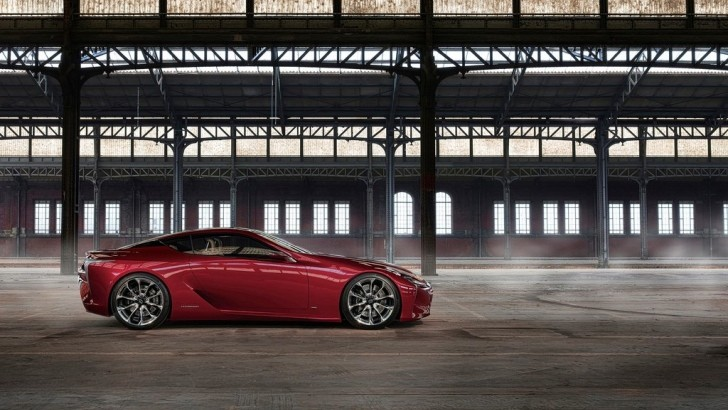 Lexus LF-LC Gets Green Light for Production