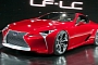 Lexus LF-Lc To Enter Production by 2015