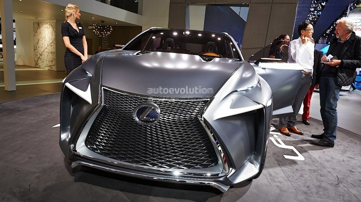 Lexus LF-NX Concept Debuts at Frankfurt 2013 [Live Photos]