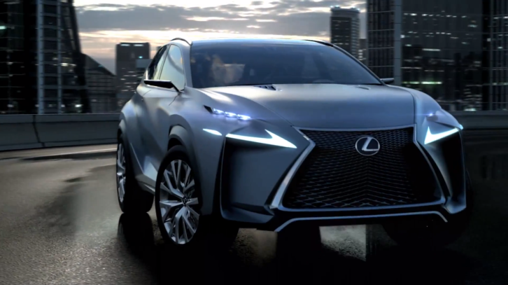 Lexus LF-NX Design Fully Revealed and Explained [Video]