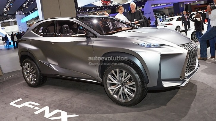 Lexus LF-NX Is in Top 10 Cars of the 2013 Frankfurt Motor Show by Autoguide