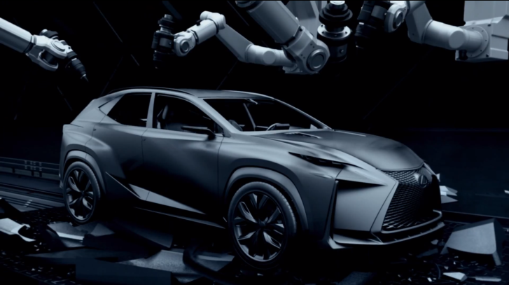 lexus lf nx turbo revealed at 2013 tokyo show autoevolution. Black Bedroom Furniture Sets. Home Design Ideas