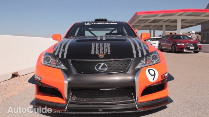 Lexus LFA and IS F CCS-R Taken on the Track by AutoGuide [Video]