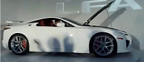 Lexus LFA Arrives in the Philippines [Video]