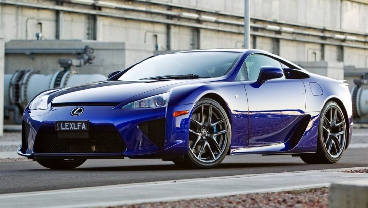 Lexus LFA Got 10th Place in Top Gear's Greatest Car of Past 20 Years Poll