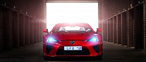 Lexus LFA Looks Amazing in Red [Photo Gallery]