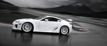 Lexus LFA Official Details, Photos and Video Released