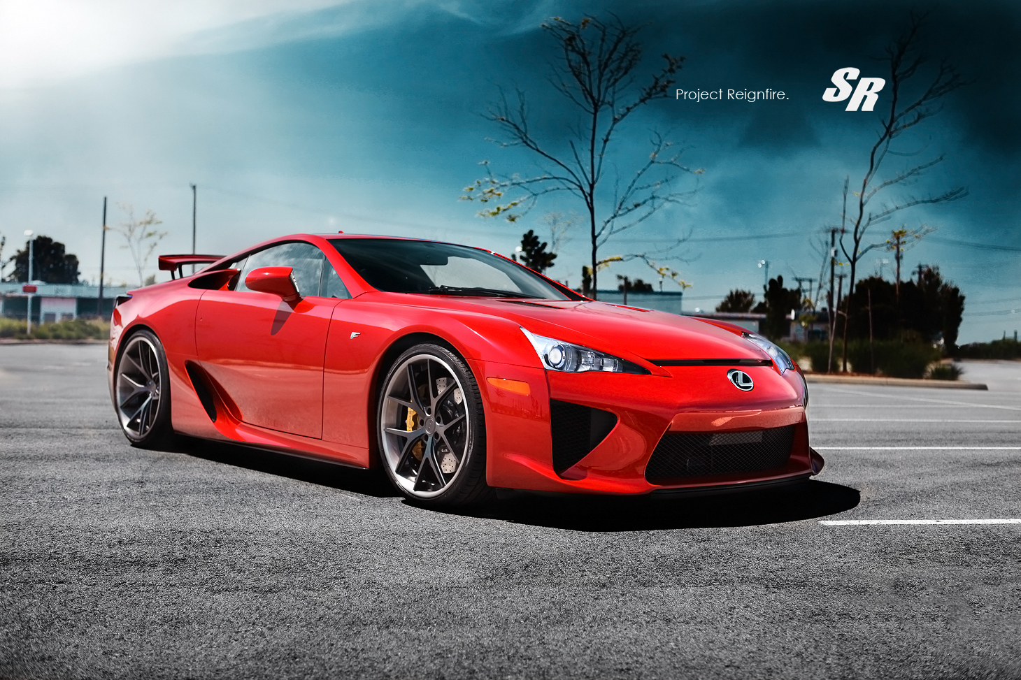lexus lfa on pur wheels - autoevolution