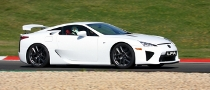 Lexus LFA Revs Up for the Nurburgring 24 Hours Race