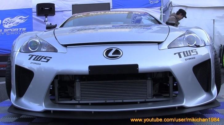 Lexus Lfa Sacrificed To Be A Drift Car In Japan Autoevolution