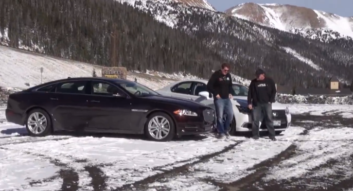 Lexus LS 460 Put Against the Jaguar XJL by TFL [Video]