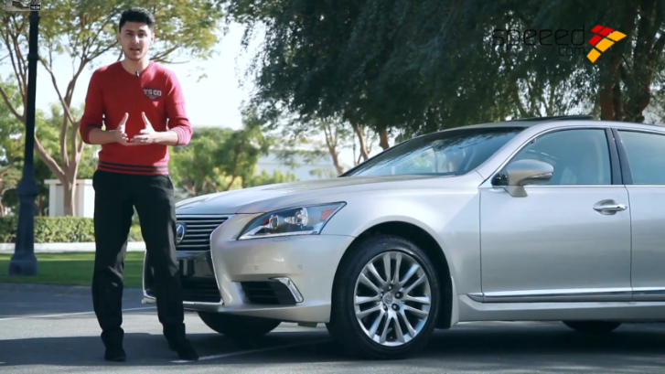 Lexus LS 460 Tested by Arab Motors TV [ls video