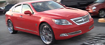 Lexus LS Donk on Forgiato Wheels [Video]