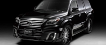 Lexus LX is Wald's New Black Bison [Photo Gallery]