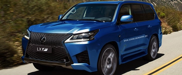 New Lexus Rx >> Lexus LX Receives the F-Sport Makeover, but Only in the Digital World - autoevolution