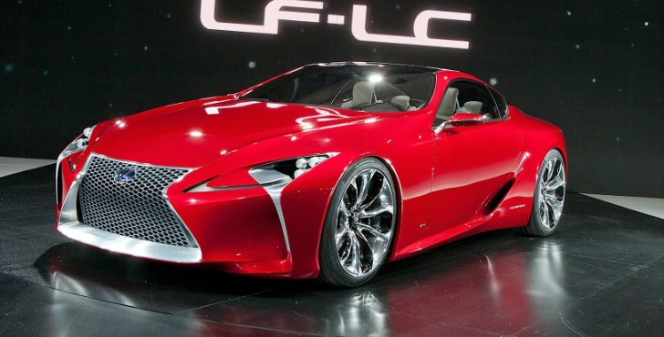 Lexus Might Build LF-Lc Due to Strong Demand - autoevolution