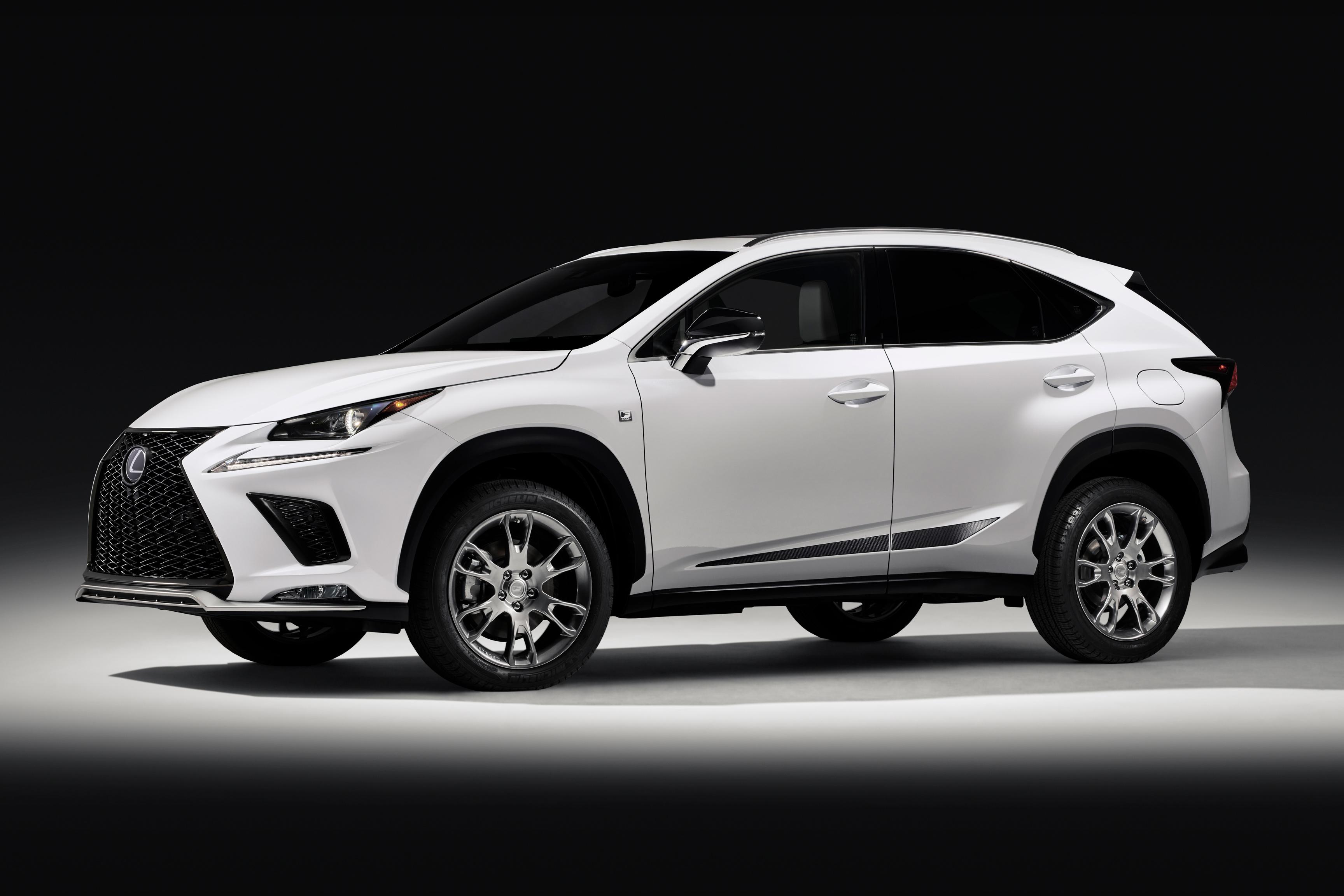 Lexus Nx Adds F Sport Black Line To 2019 Model Range