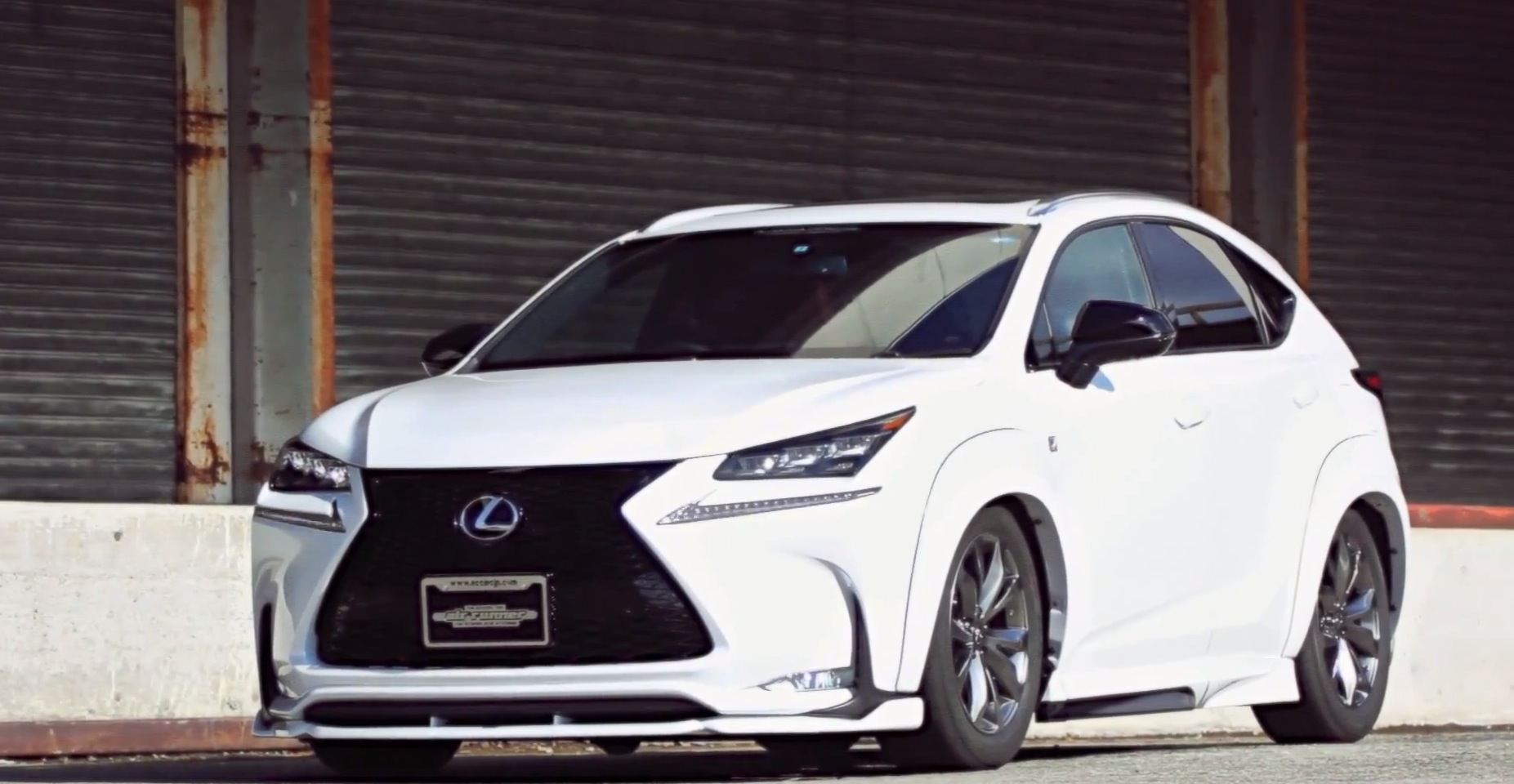 Lexus NX SUV Gets ACC Air Suspension and Widebody Kit