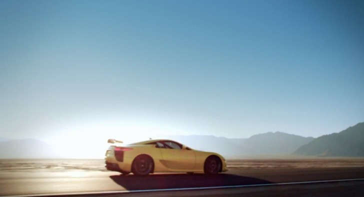 Lexus Pays Tribute to its LFA [Video]