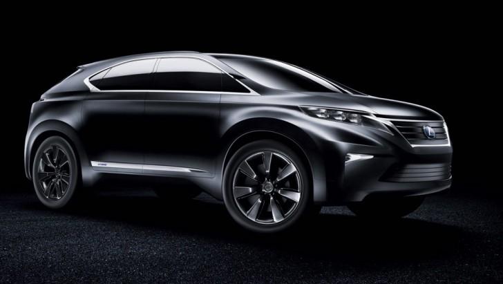 lexus pondering a 7 seater crossover for 2016 autoevolution. Black Bedroom Furniture Sets. Home Design Ideas