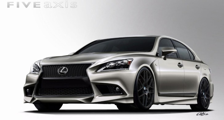 Lexus PROJECT LS F SPORT by Five Axis Headed for SEMA