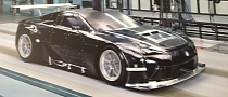 Lexus Race Car Driver Teases LFA GTE Race Car