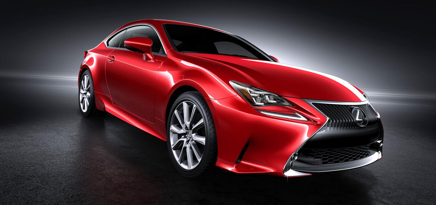 Lexus RC Coupe Getting New Red Paint Color