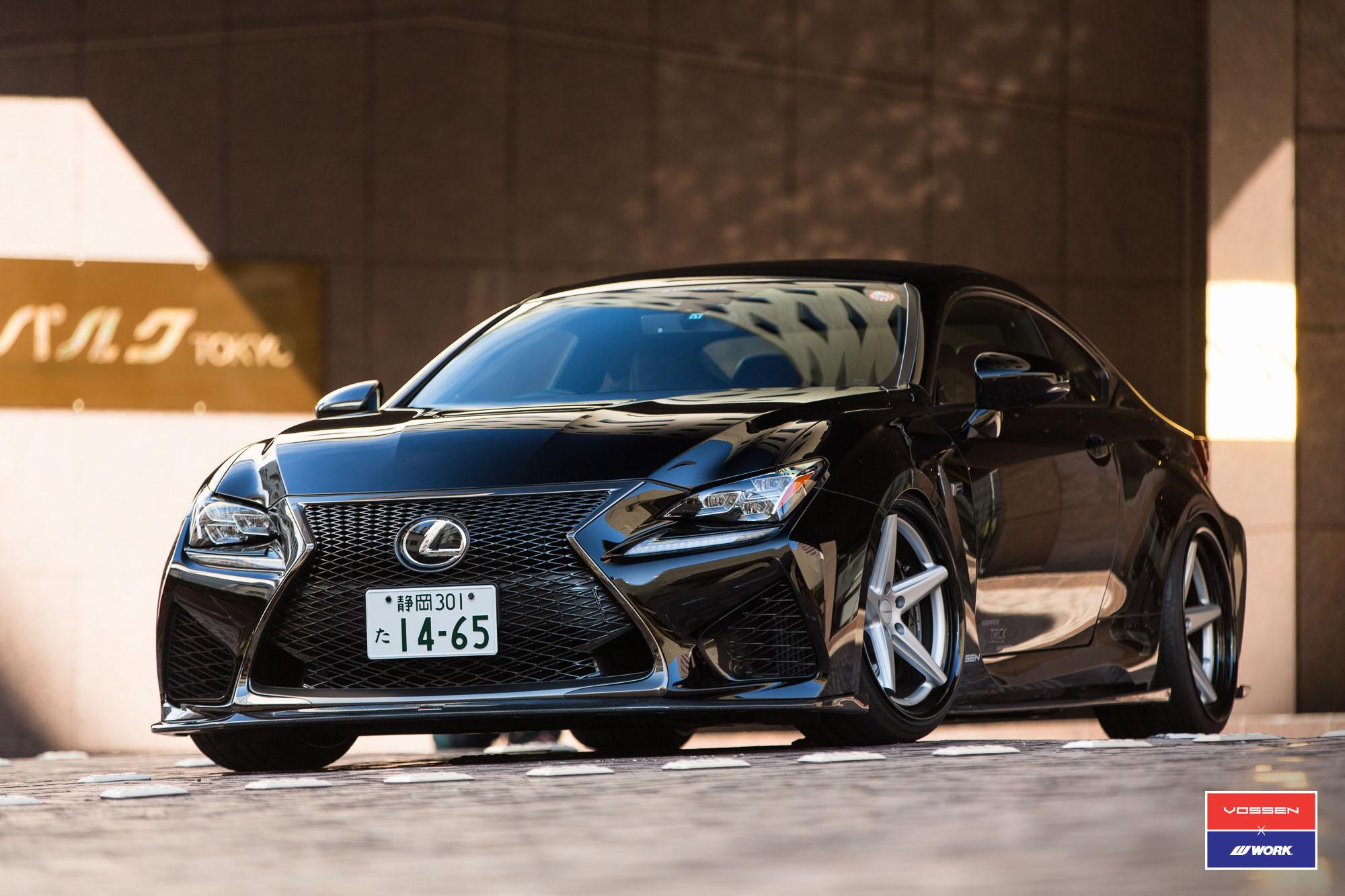 Lexus RC F by Skipper Japan Has Vossen Wheels - autoevolution
