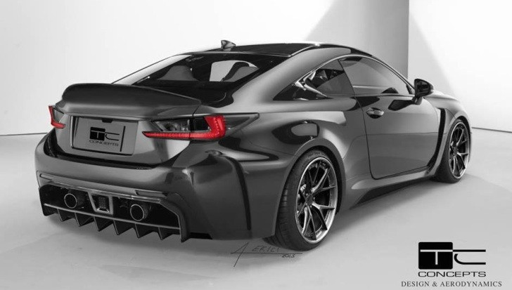Lexus Rc F Getting New Body Kit From Tc Concepts