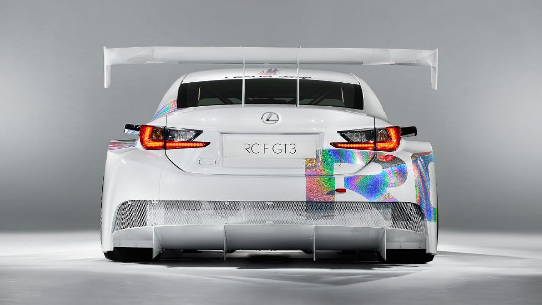 Lexus RC F GT3 Concept Making World Debut at 2014 Geneva Show ...