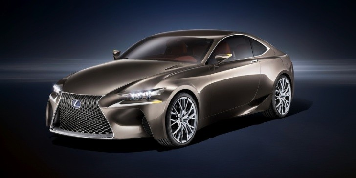 Lexus RC Might Get Turbo Engine