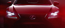 Lexus RC Turns to Passion Red for Video Debut [Video]