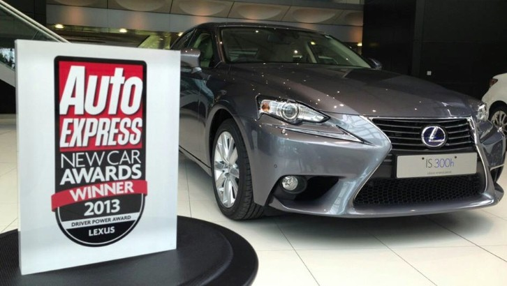 Lexus Receives the Driver Power Award
