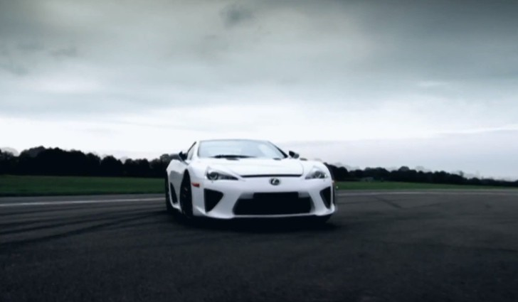 Lexus Releases LFA Tribute Video [Video]