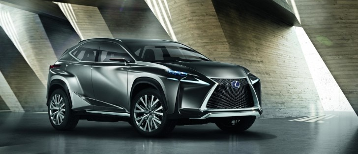 Lexus Reveals LF-NX Small Crossover Concept Ahead of Frankfurt