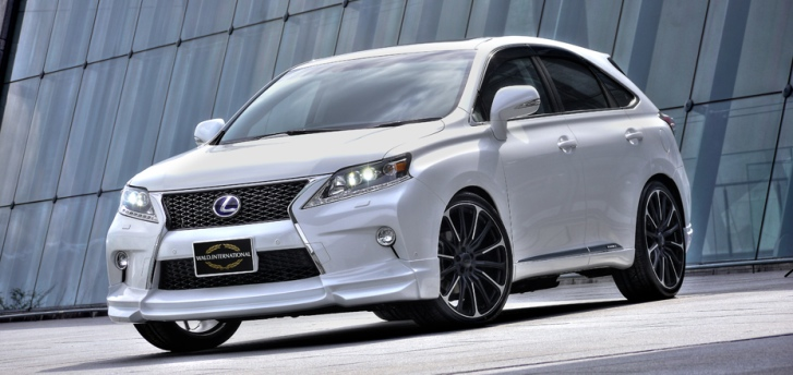 lexus rx looks awesome with wald pack photo gallery. Black Bedroom Furniture Sets. Home Design Ideas