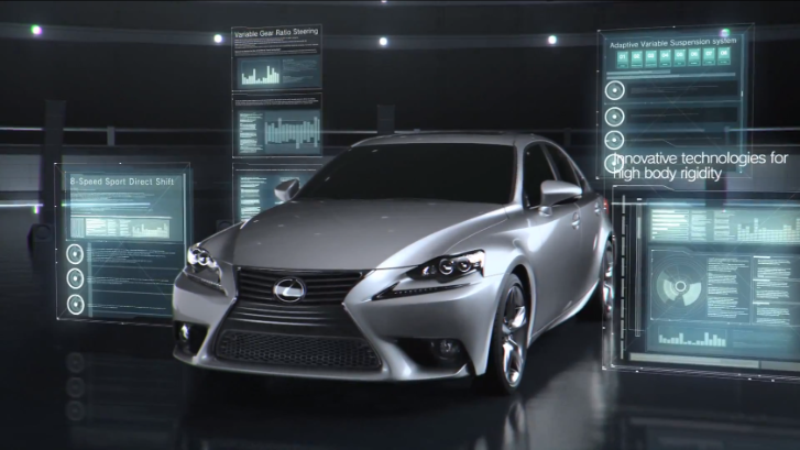 Lexus Shows IS' In-Depth Features At Work [Video]