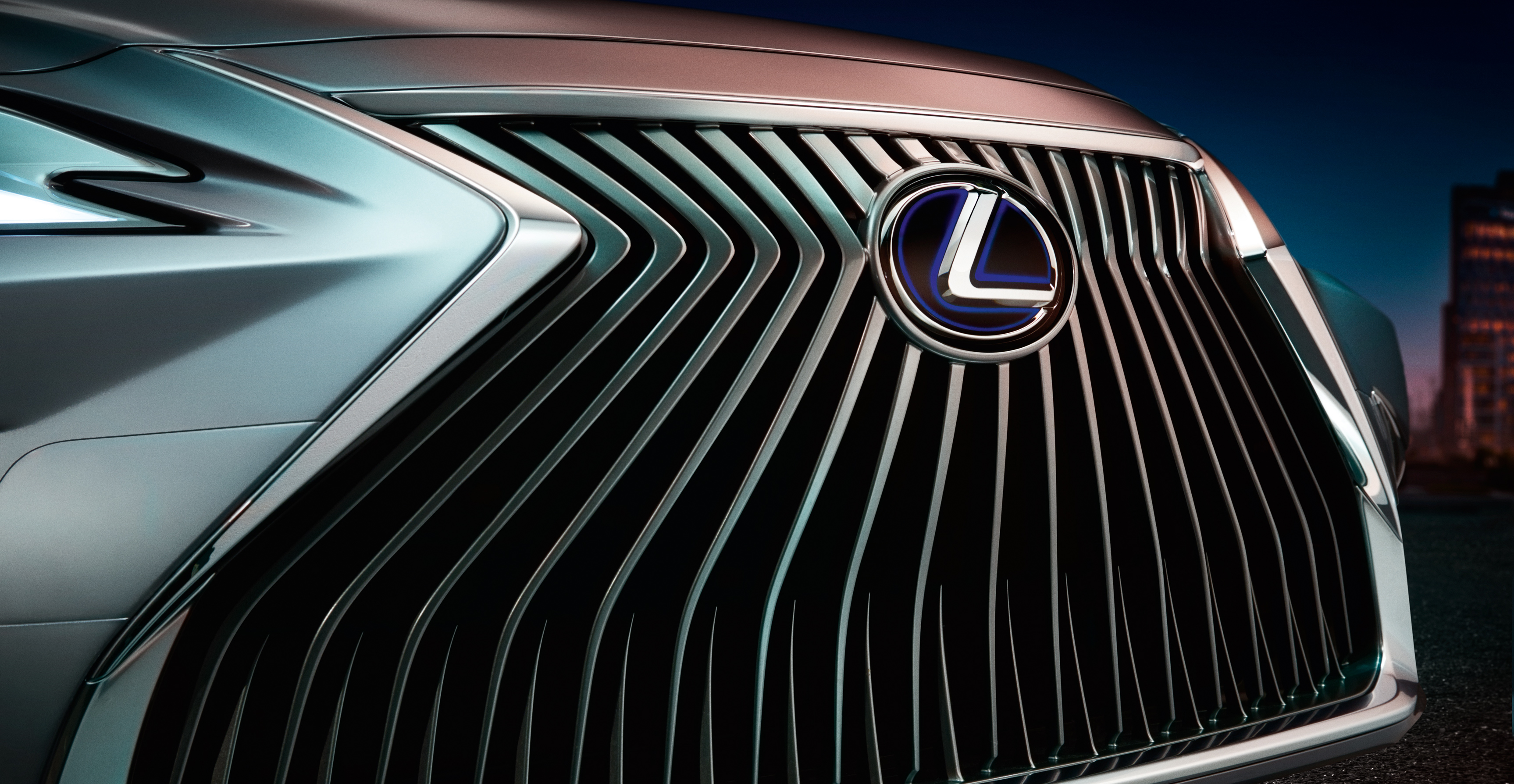 2019 Lexus ES teased ahead of its Beijing debut